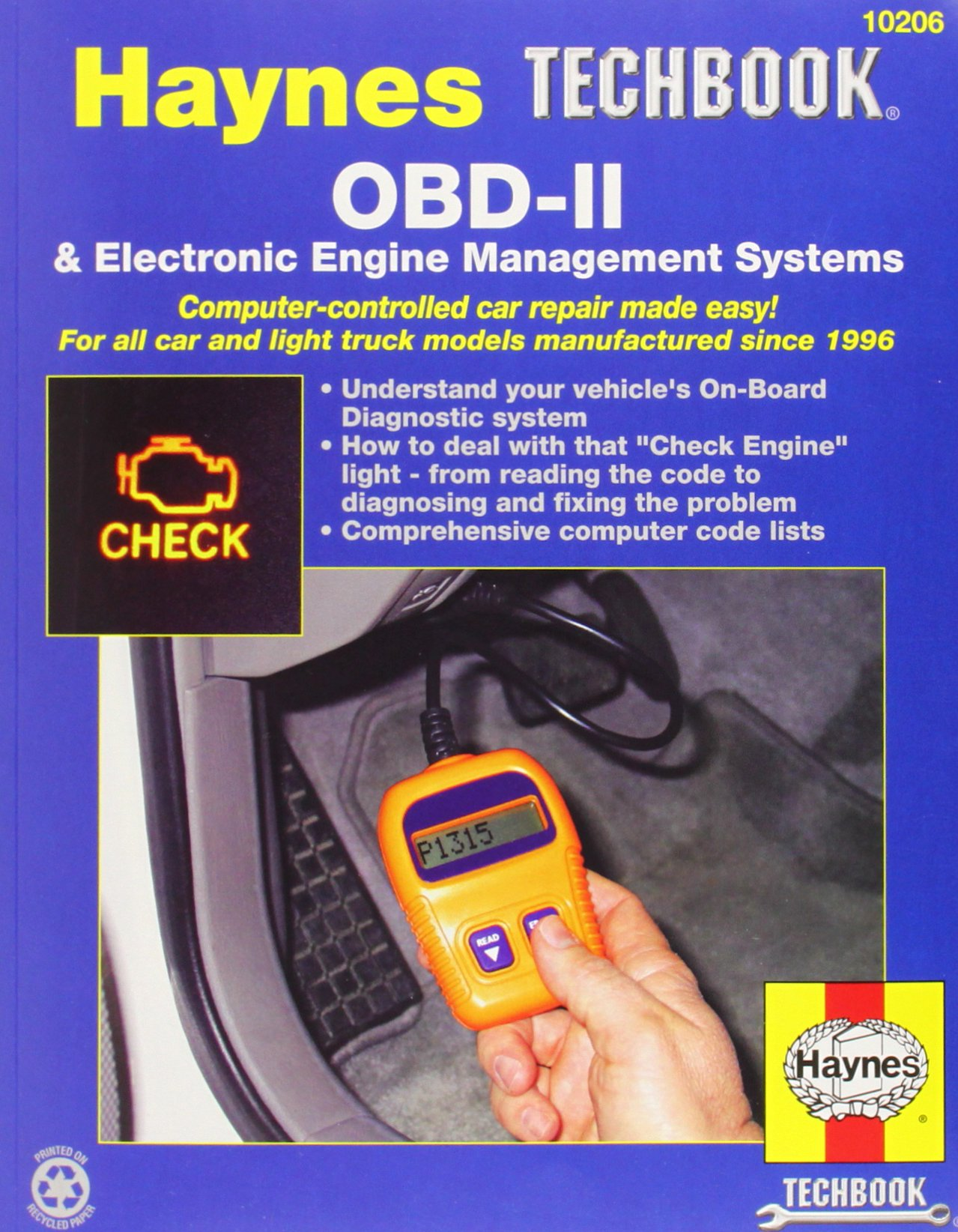 Buy Obdii & Electronic Engine Management Systems: 1 (haynes Techbook) Book  Online At Low Prices In India  Obdii & Electronic Engine Management  Systems: 1