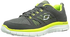 Skechers Flex Advantage, Chaussures de sports en salle homme   avis de plus amples informations