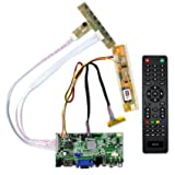 VSDISPLAY HDMI VGA 2AV USB Audio Monitor Driver Controller Board Work For 14.1