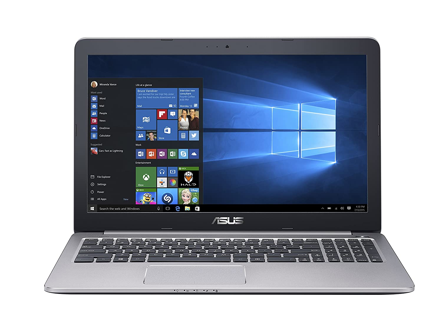 Top 10 Best 4K Ultra HD Laptops Reviews 2016-2017 - cover