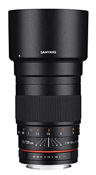 SAMYANG 1112207101 f2,0 135 mm (objectif pour olympus 4/3