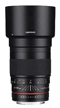 SAMYANG 1112204101 f2,0 135 mm pour objectif pentax k
