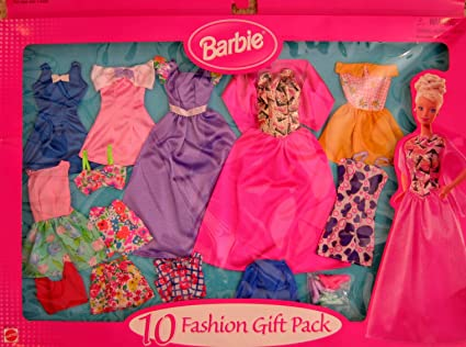 Mattel Barbie Fashion Games Barbie Fashion Gift Pack