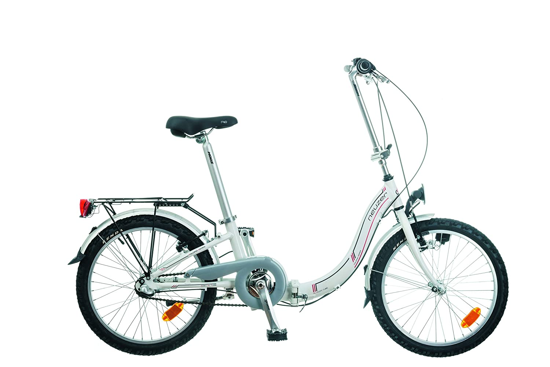 Bicicleta Neuzer plegable de aluminio
