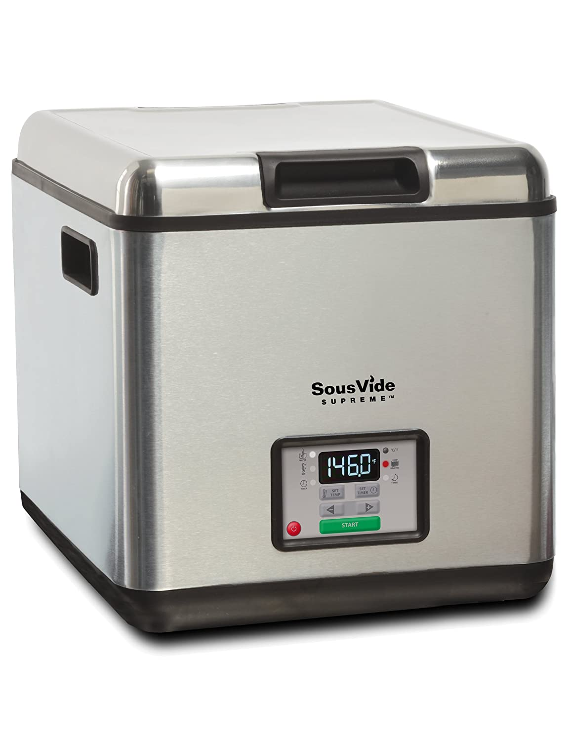 So easy to make gourmet meals with this sous-vide water oven