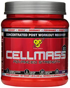 BSN Cellmass 2.0 Grape, 1er Pack (1 x 485 g)