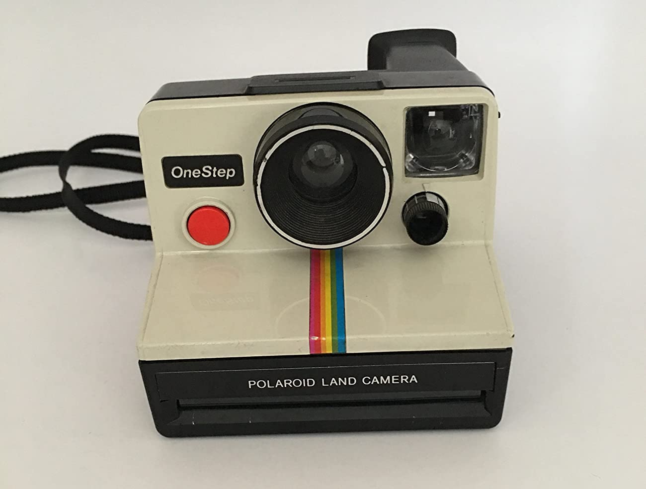 Polaroid OneStep SX-70 White/Rainbow Camera 5