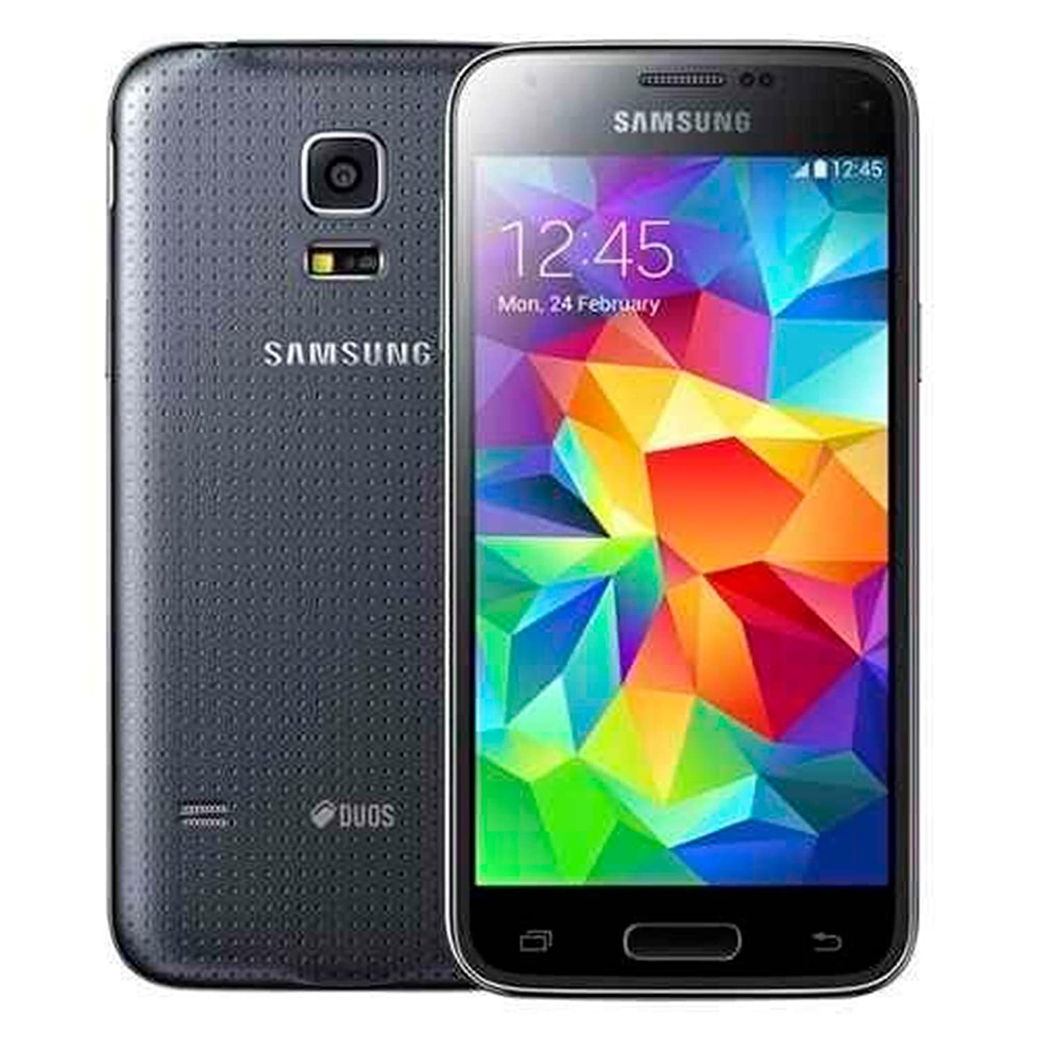 Samsung Galaxy S5 Mini G800H Unlocked Cellphone, International Version, 16GB, Black