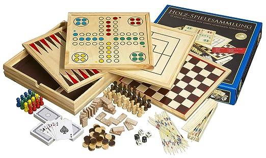 Philos - 9960 - Coffret de jeux - 10 jeux - Langue : allemand