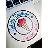 Gelato Brothers Bumper Stickers 2 Pack 3