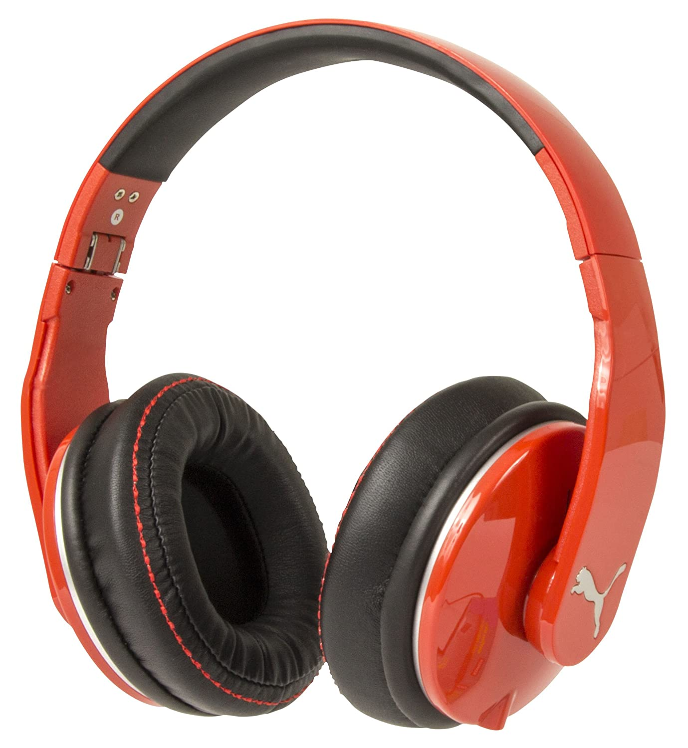 PUMA PMAD6010-ARED Vortice Over-Ear Headphone and Mic 1more mk801 over ear headphone with mic and remote for android and ios