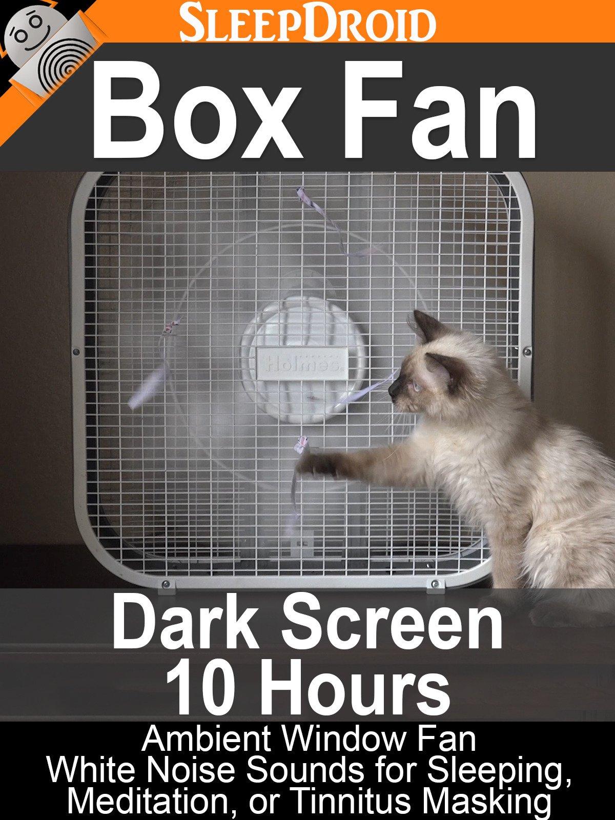Box Fan (Dark Screen