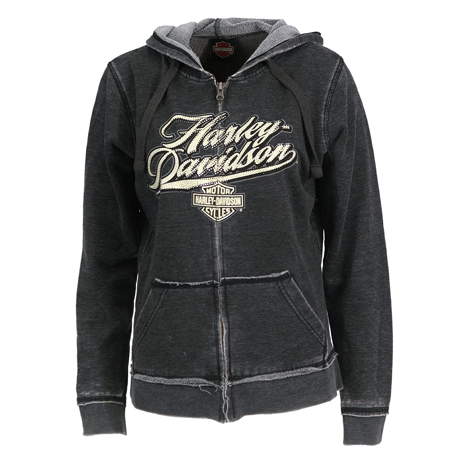 цена на Harley-Davidson Sweatshirts - Women's Hoodie | Far East Scripted
