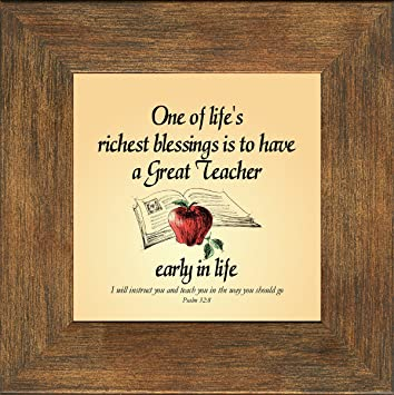 Teacher Appreciation Inspirational Poem