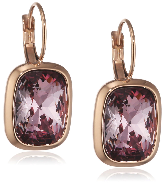 Dyrberg/Kern Damen-Ohrhänger 15/02 Rina Rg Ant Rose teilvergoldet Kristall pink 1.16 cm – 337613 online kaufen