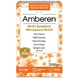 Amberen: Safe Multi-Symptom Menopause Relief. Clinically Shown to Relieve 12 Menopause Symptoms: Hot Flashes, Night Sweats, Mood Swings, Low Energy and More. 1 Month Supply (Tamaño: 30-day supply)