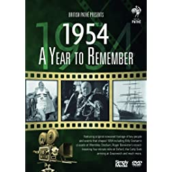 British Pathé News - A Year To Remember 1954 - 65th Anniversary Birthday Gift