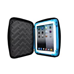 Grumdrop Cases Drop Tech Series Protective Sleeve For All iPads - Black/Blue