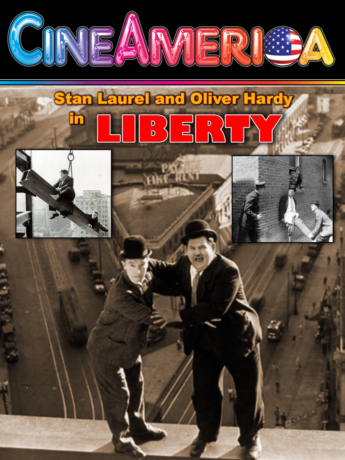 "Laurel and Hardy ""Liberty"""
