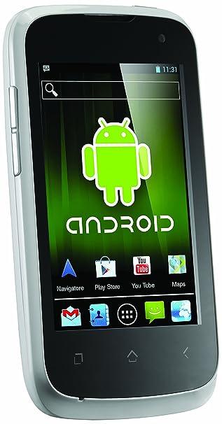 Brondi Luxury 2 Smartphone Android Bluetooth Wifi 2,5 Go Blanc