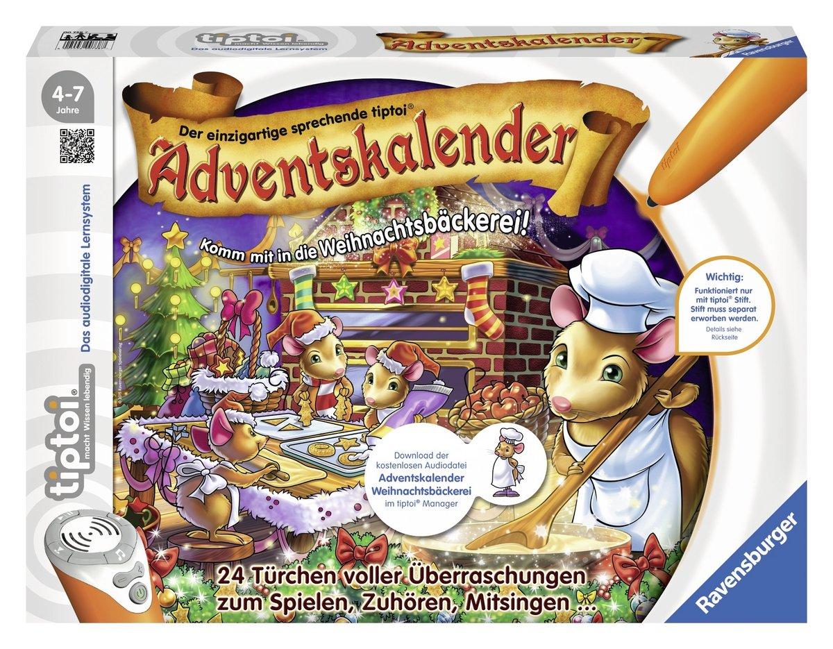 Ravensburger 00738 – tiptoi – Adventskalender 2015 – In der Weihnachtsbäckerei jetzt bestellen