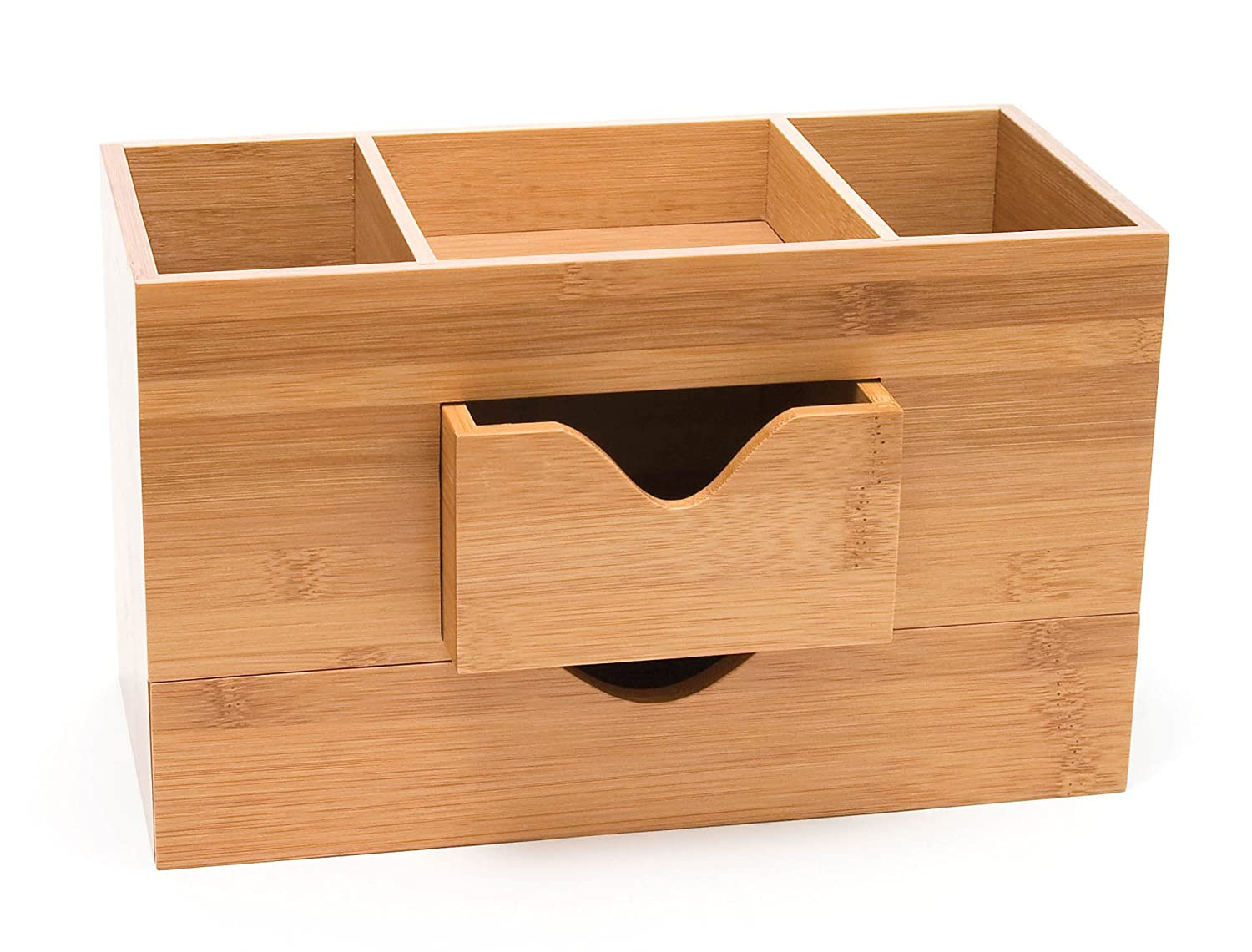Lipper International Bamboo  Desk Organizer
