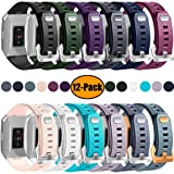 Maledan For Fitbit Ionic Bands(12 Pack), Classic Replacement Accessory Wristbands for Fitbit Ionic Smart Watch (Color: #012Pack, Tamaño: Small (5.5 - 6.7 in))
