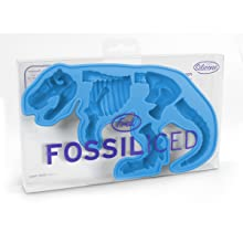 Lifetime Brands Inc. W64516R Fossil-Iced Silicone Ice Tray, T-Rex