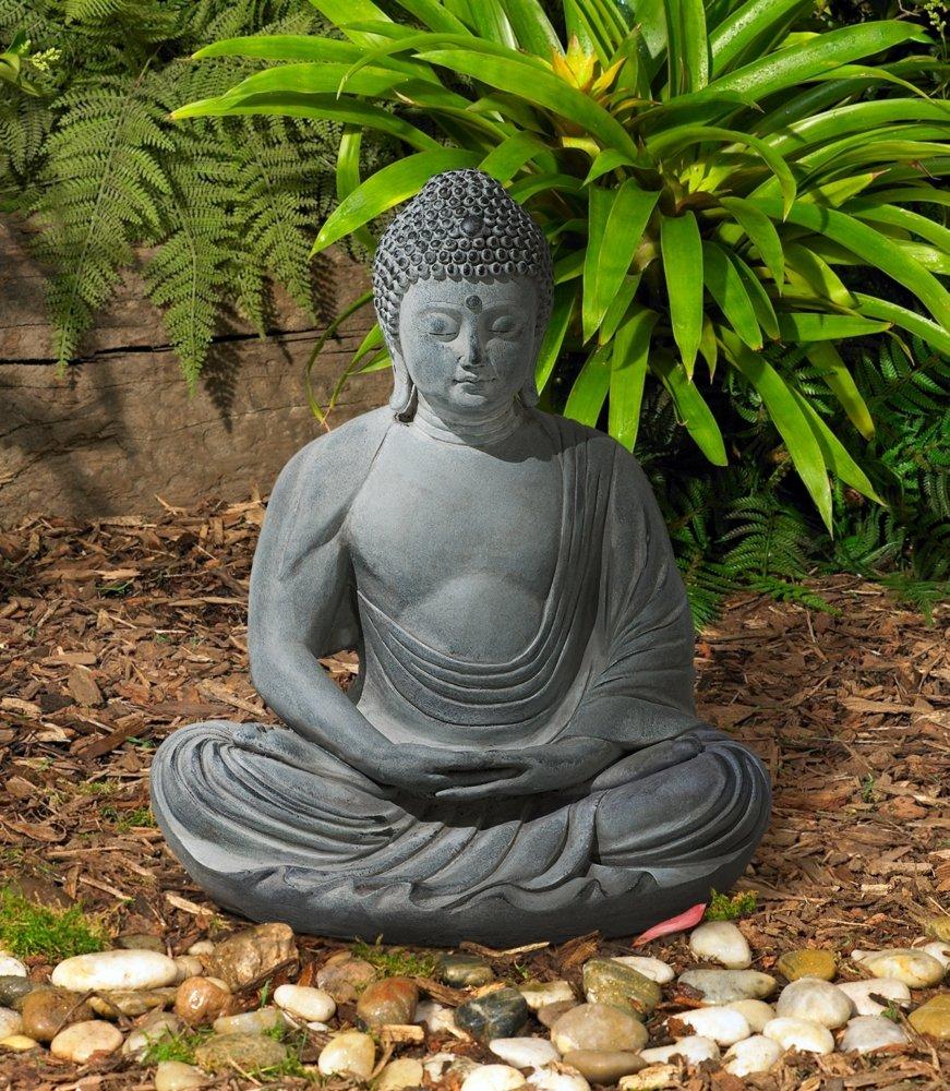 peaceful buddha statues for garden zen and meditation. Black Bedroom Furniture Sets. Home Design Ideas