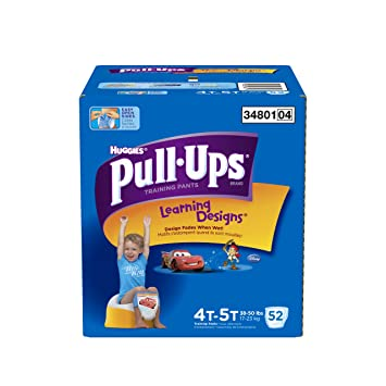 Pull-Ups Learning Designs Training Pants 4T-5T Boy, Giga Pack, 52-Count: Amazon.ca: Health & Personal Care