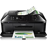 Canon Pixma MX922 Wireless Color Inkjet All-In-One Printer with Duplex (Black)