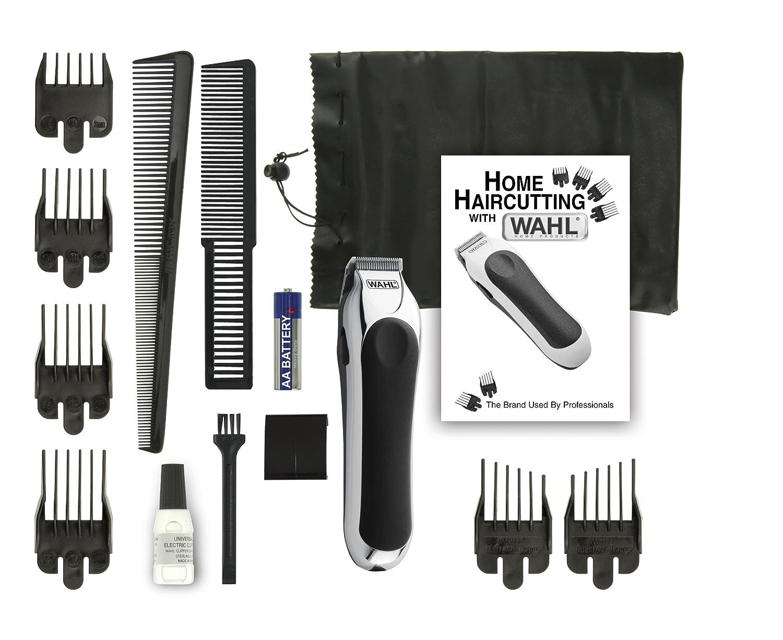 new wahl hair beard clipper cordless kit mini pro travel cutting battery set ebay. Black Bedroom Furniture Sets. Home Design Ideas