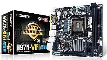 Gigabyte H97N-WIFI Carte mère Intel H97 Express Chipset Mini ITX Socket LGA1150
