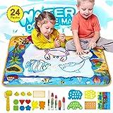 Aqua Doodle Mat Toy for Kids, Large Magic Water Doodle Mat for Toddler 40