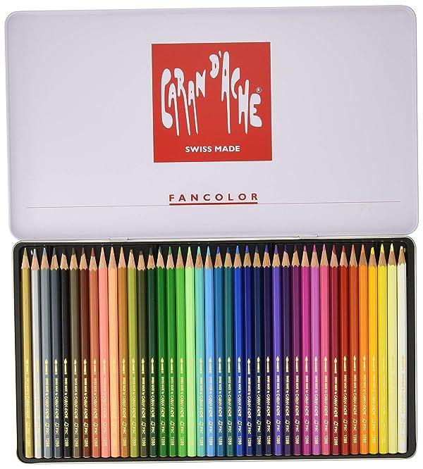 Caran d'Ache Fancolor Color Pencils, 40 Colors (Color: Multi)