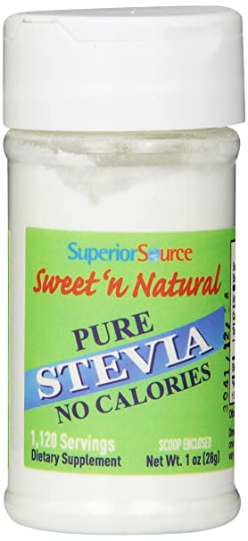 Отзывы Superior Source Sweet 'N Natural Stevia Pure Nutritional Supplements Powder