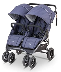 Snap Duo Denim Blue Review - Double Umbrella Stroller Guide