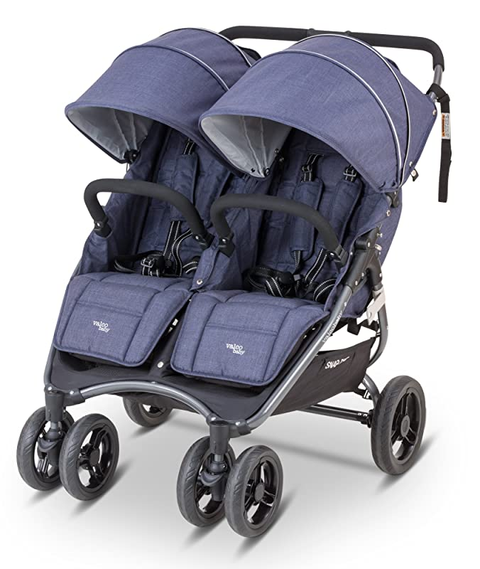 Snap Duo Denim Blue 2015 - Best Lightweight Double Umbrella Stroller