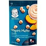 Gerber Graduates Yogurt Melts, Mixed Peach, 1 Ounce (Pack of 7) (Tamaño: 7 Count)