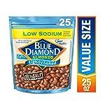 Blue Diamond Almonds, Low Sodium Lightly Salted, 25 Ounce