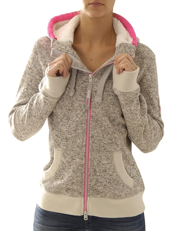 Superdry Zipper Women STORM ZIPHOOD Dark Gritty Marl online kaufen