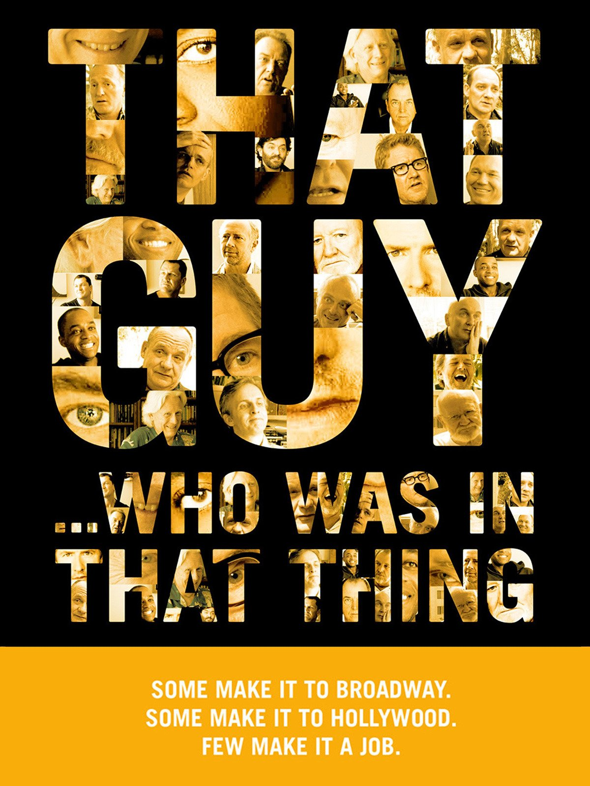 That Guy... Who Was In That Thing on Amazon Prime Instant Video UK