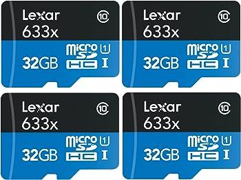 Lexar UHS-I 633X 32GB Memory Card Bundle