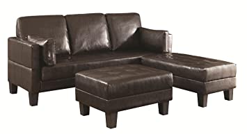 Ellesmere Contemporary Sofa Bed with 2 Ottomans