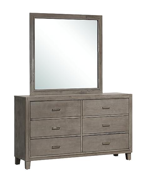 Glory Furniture G1205-D Bedroom Dresser, Gray