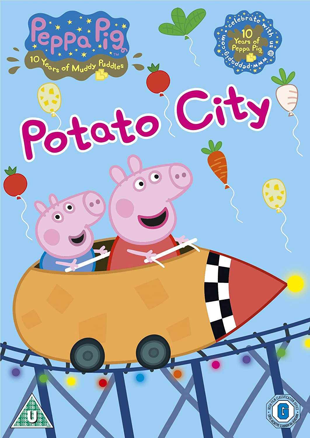 Peppa Pig Washing Peppa Pig Potato City Volume