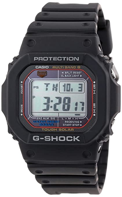 Casio Men's GWM5610-1 G-Shock Multi-Band Atomic Digital Sport Watch-奢品汇 | 海淘手表 | 腕表资讯