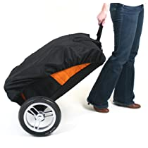 Valco Baby Universal Stroller Roller Travel Bag Orange or Black