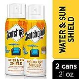 Scotchgard Water & Sun Shield with UV Protector 2 Cans, 10.5-Ounces (21 Ounces Total) (Tamaño: 21 Oz.)