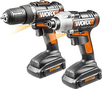 Worx WX916L 20V Li-Ion 2-Piece Combo Kit
